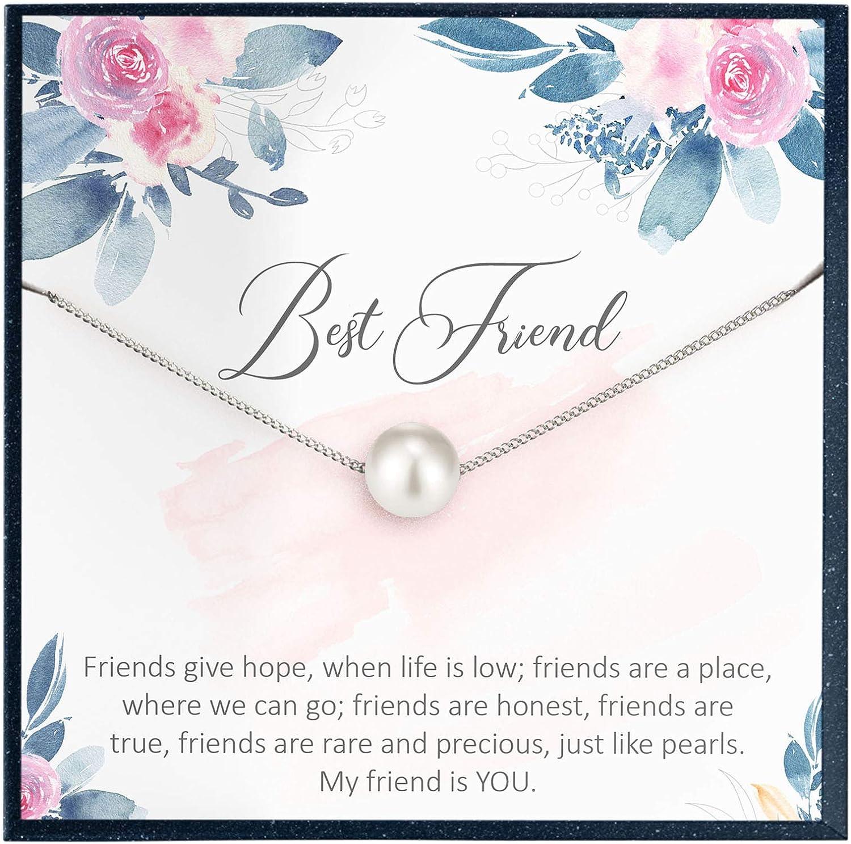best friend antique silver beads 2x friendship bracelets pearl bracelet gift for friends