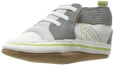 6d0b7ff1 Amazon.com: Robeez Baby Boy's Trendy Trainer Soft Sole (Infant ...