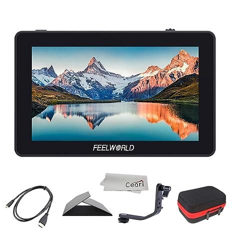Feelworld F6 Plus 5.5 Pulgadas 3D LUT Pantalla táctil 4K HDMI ...