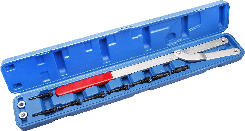 Gegenhalter Werkzeug Gegenhalteschlüssel Kurbelwellen Fahrzeug Zahnriemen Satz #