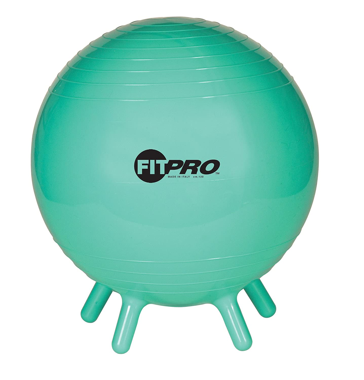 Amazon Champion Sports FitPro Ball with Stability Legs 42cm