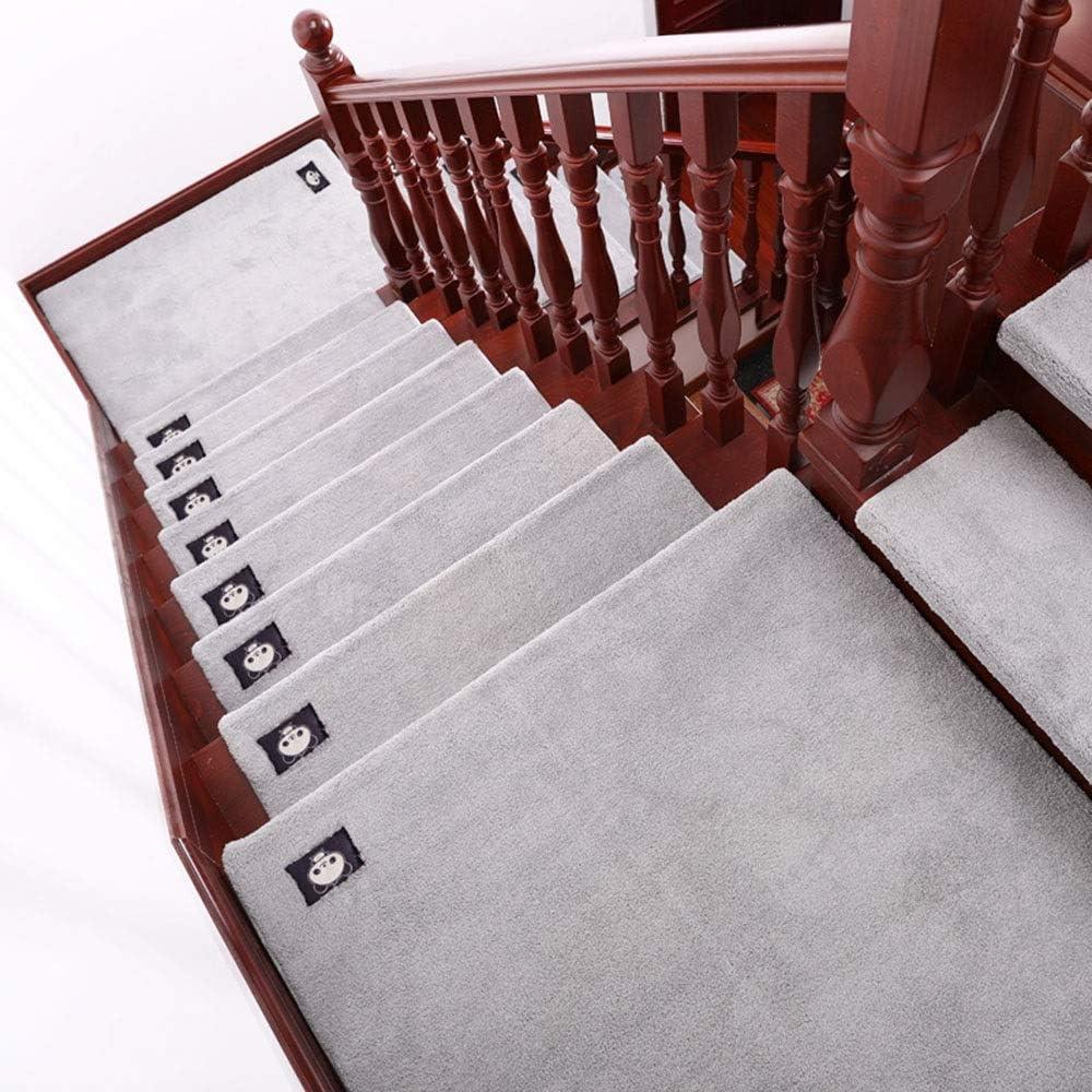 QFFL Alfombra para Escalera Escaleras Peldaños Mat Paso, Antideslizante Huellas de Escalón de Alfombras de Interior Al Aire Libre de Los Niños, Ancianos, Perro de Mascota Resbalón del Resbalón Resiste: Amazon.es: Hogar