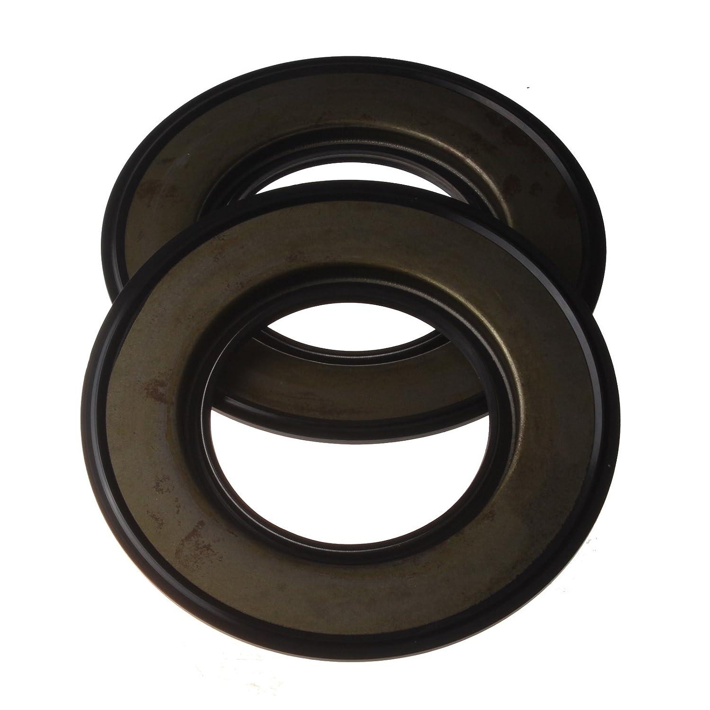 Friday Part 2 Pcs Rear Oil Seal 198636170 for Perkins Cat 156-6973 403D-15 403D-15T 403C-15