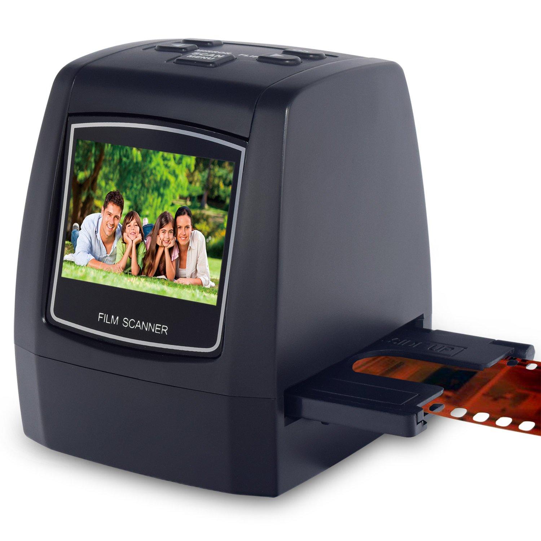 Scanner e digitalizzatore portatile ad alta risoluzione, da 22 megapixel, per diapositive e pellicole Super 8, diapositive e negativi da 35 mm, convertitore digitale per pellicole 110 e 126 DIGITNOW!