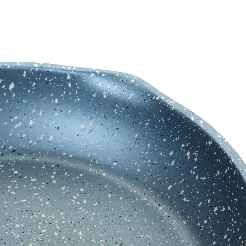 ROSSETTO Pintalabios para crepera de 24 cm incluida inducci/ón. para Todo Tipo de Fuegos Base de Aluminio Revestimiento Antiadherente