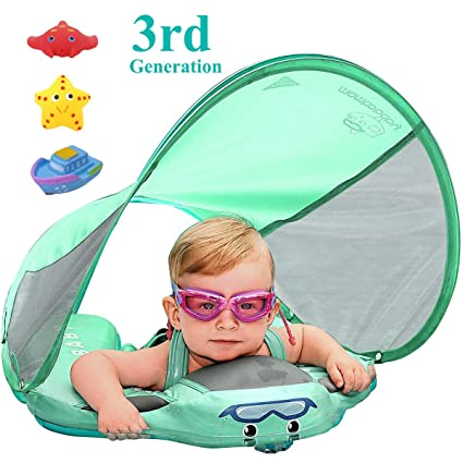 5bd3df2e6e VQ-Ant Upgrade 3rd Generation Baby Solid Swimming Float No Need Inflatable Swimming  Ring Swim