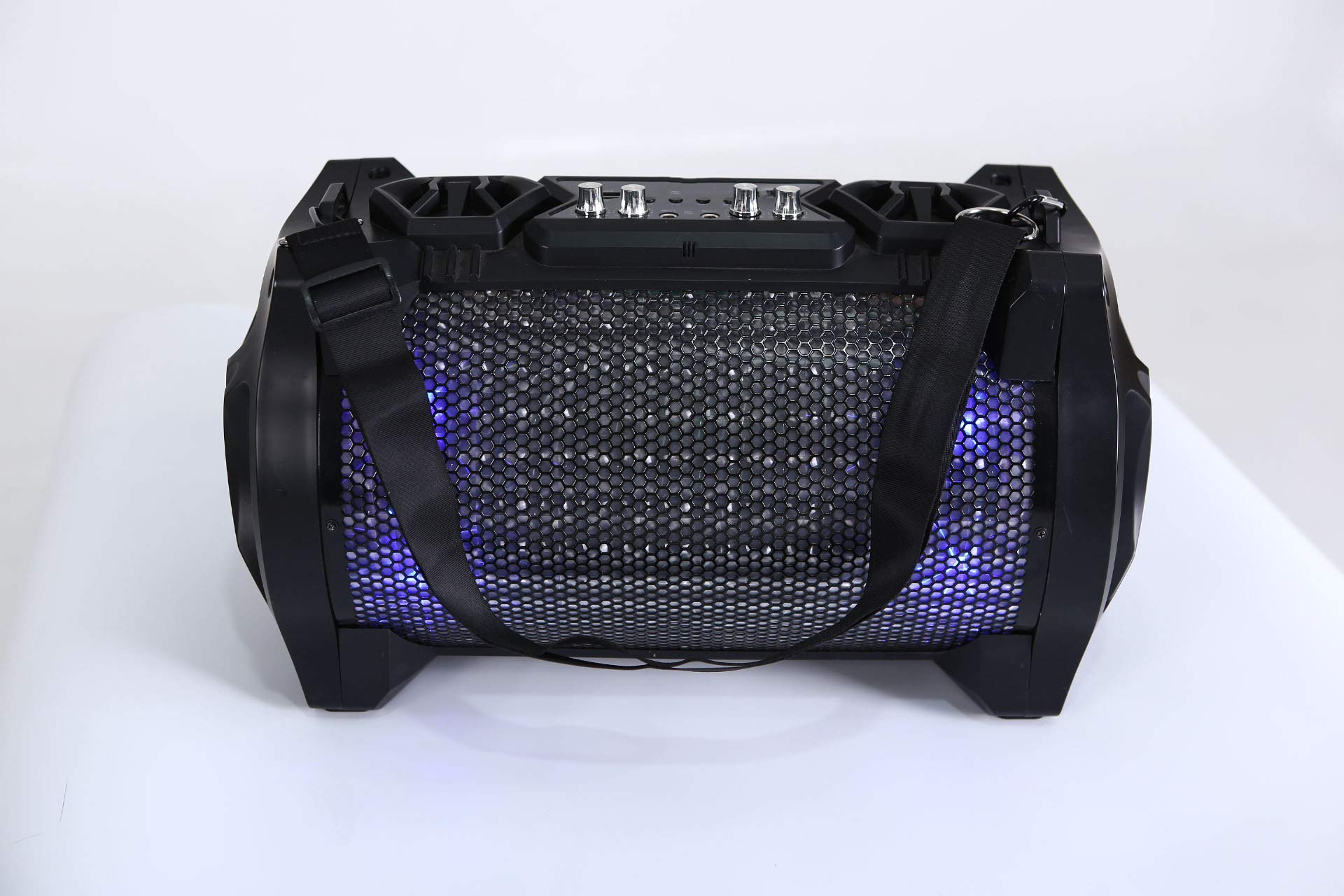 xingganglengyin Bluetooth Speaker 2018 New Cannon Strap with Lantern Smart Audio Outdoor Hip Hop Mobile Wireless Subwoofer by xingganglengyin (Image #6)
