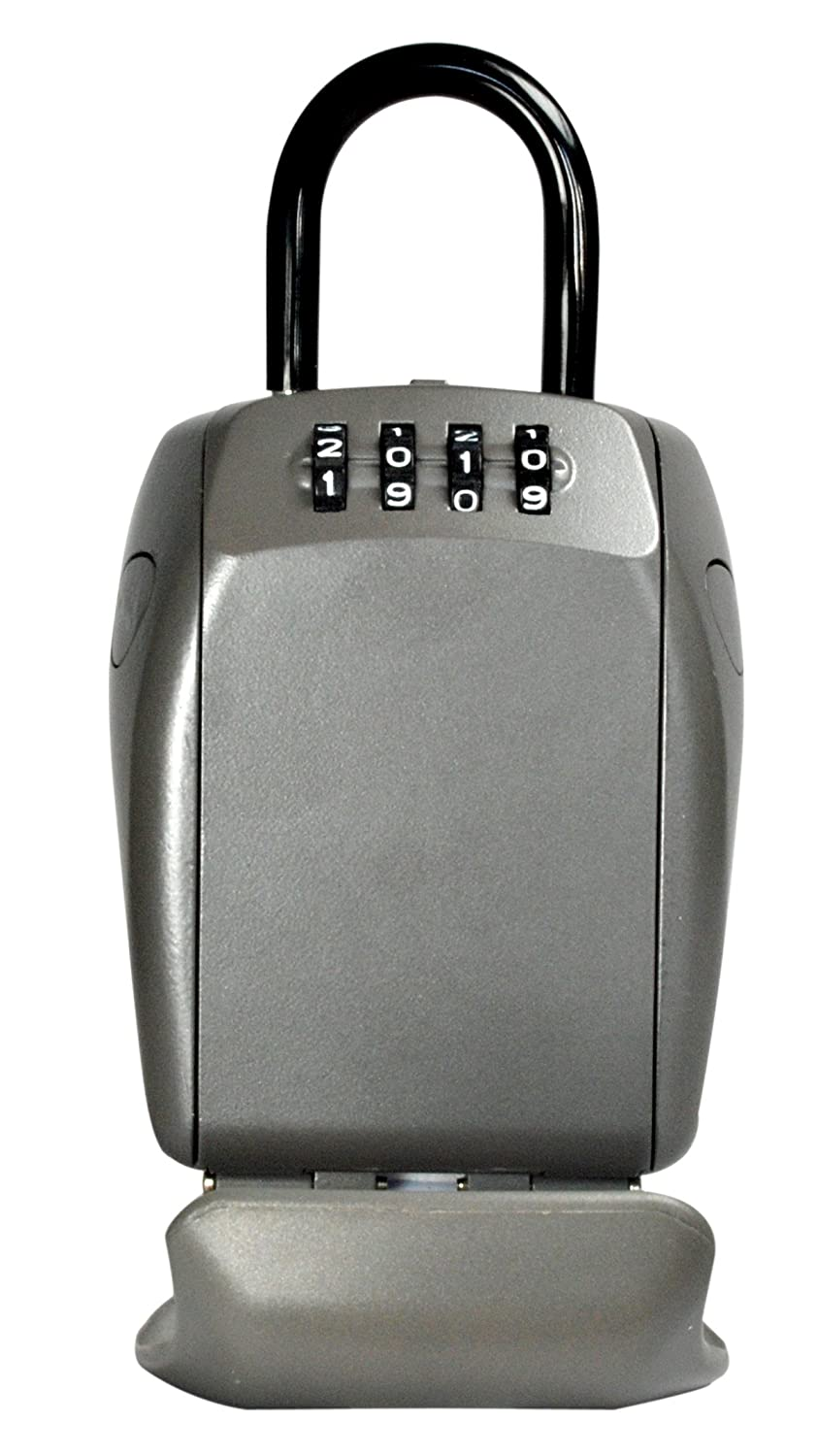 Master Lock Lock Box, Set Your Own Combination Wall Mount Key Safe for Key and Access Card Storage MasterLock 5414D
