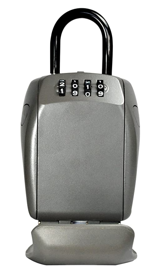 Master Lock Key Lock Box [Reinforced Security] [with Shackle] - 5414EURD -  Select Access - Safe Way To Share Keys