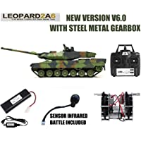 MODELTRONIC Tanque Radio Control alemán Leopard 2A6 Escala
