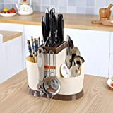 Skyfun Multi Functional Kitchen Sink Tools Chopstick Creative Plastic Cutlery Rack Organizer For Dinner Table Counter Top With Self Draining Tray Buy Online In Aruba At Aruba Desertcart Com Productid 83450691