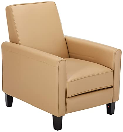 Charmant Christopher Knight Home 230355 Lucas Camel Leather Recliner Club Chair,