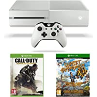 Xbox One White Console, Sunset Overdrive and Call of Duty: Advanced Warfare
