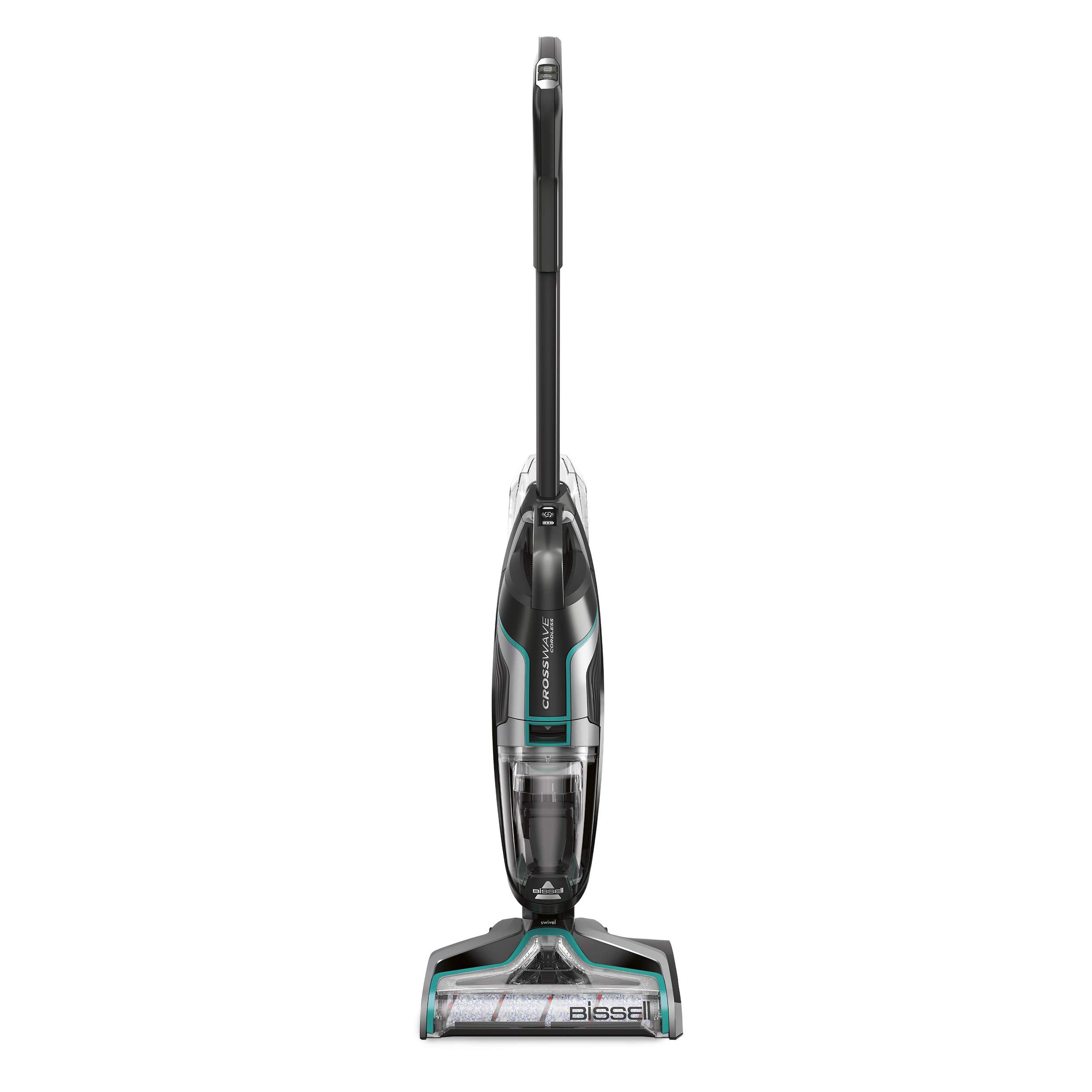 BISSELL CrossWave Cordless Floor and and Carpet Cleaner with Wet-Dry Vacuum, 2551, Black by Bissell (Image #1)