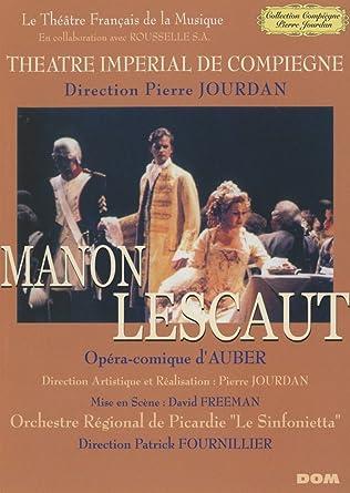 Amazon.com: D.F.E. Auber - Manon Lescaut - Theatre Imperial ...