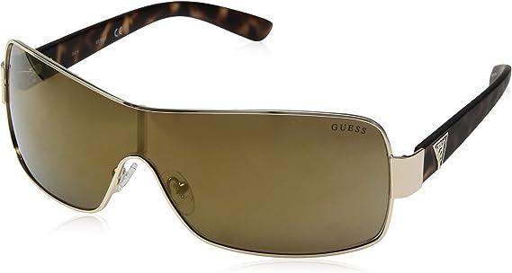 TALLA 00. GUESS Hombre Mixed escudo gafas de sol