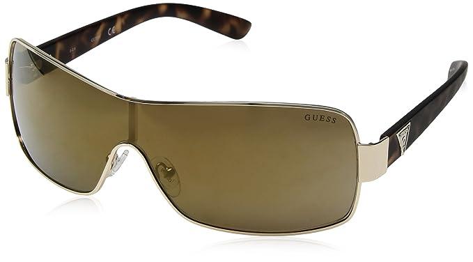 Guess GF6594-0032G Gafas de Sol, Oro, 00 para Hombre: Amazon ...
