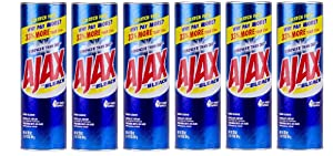 Ajax Powder Cleanser with Bleach - 28 oz (Pack of 6)