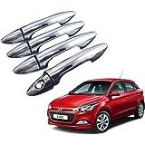 Auto Pearl - Premium Quality Chrome Door Handle Cover For - Hyundai I20 Elite