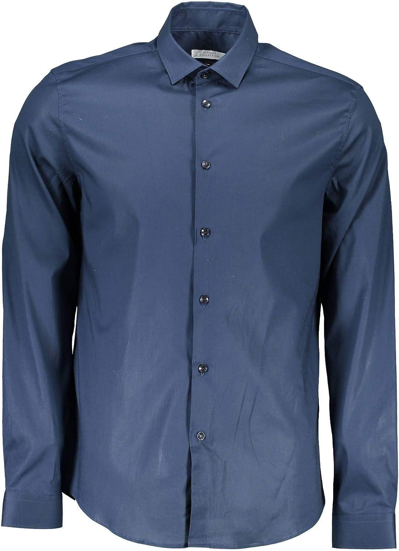 Versace VT02259 - Camisa de Manga Larga para Hombre: Amazon.es: Ropa y accesorios