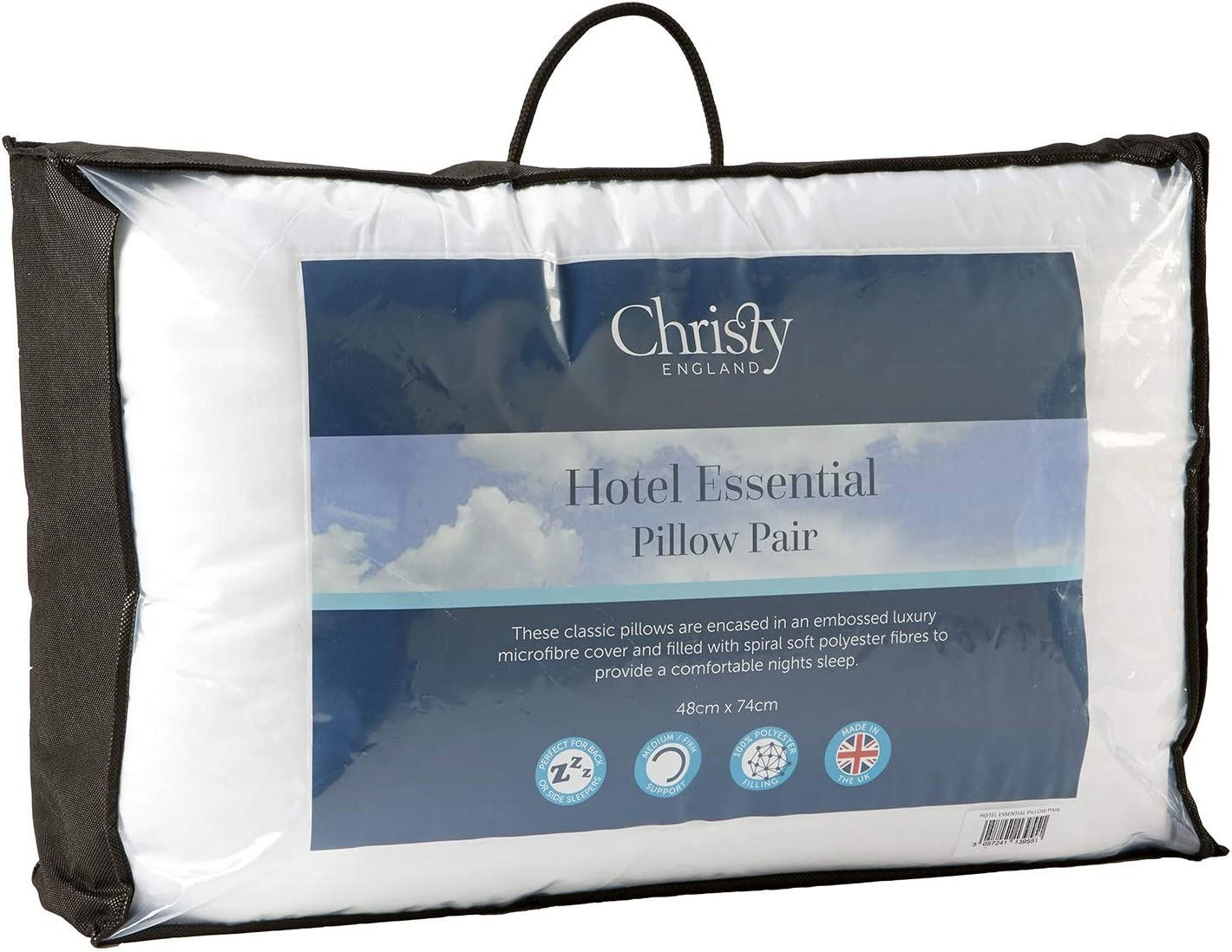 Christy Hotel Stripe Pillow Pair Pack
