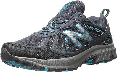 New Balance Cushioning 410v5 Wt410v5 - Zapatillas de Running con amortiguación para Mujer, Color Negro, Color Gris, Talla 38.5 EU: Amazon.es: Zapatos y complementos