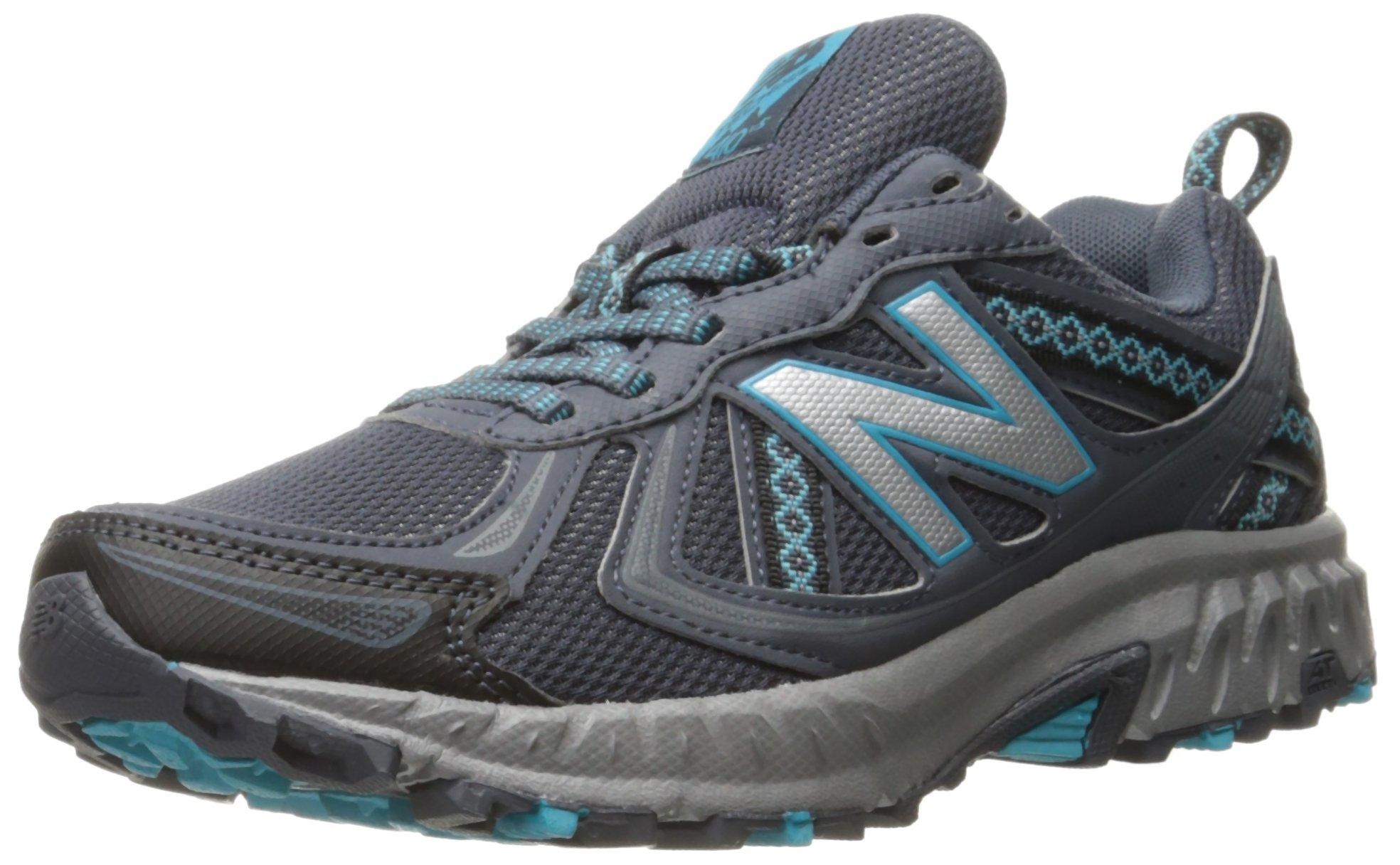 New Balance Women's WT410v5 Cushioning Trail Running Shoe, Grey, 6.5 B US