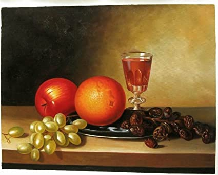 Amazon Com Roya Art Fruit And Wine By Sarah Miriam Peale