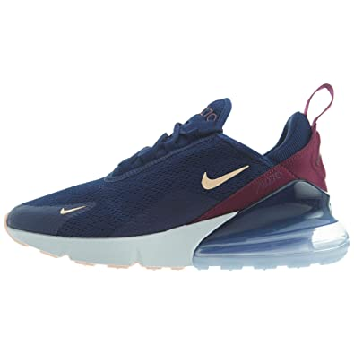 outlet store 1110e 143f7 Amazon.com | Nike Air Max 270 Women's Shoes Blue Void ...