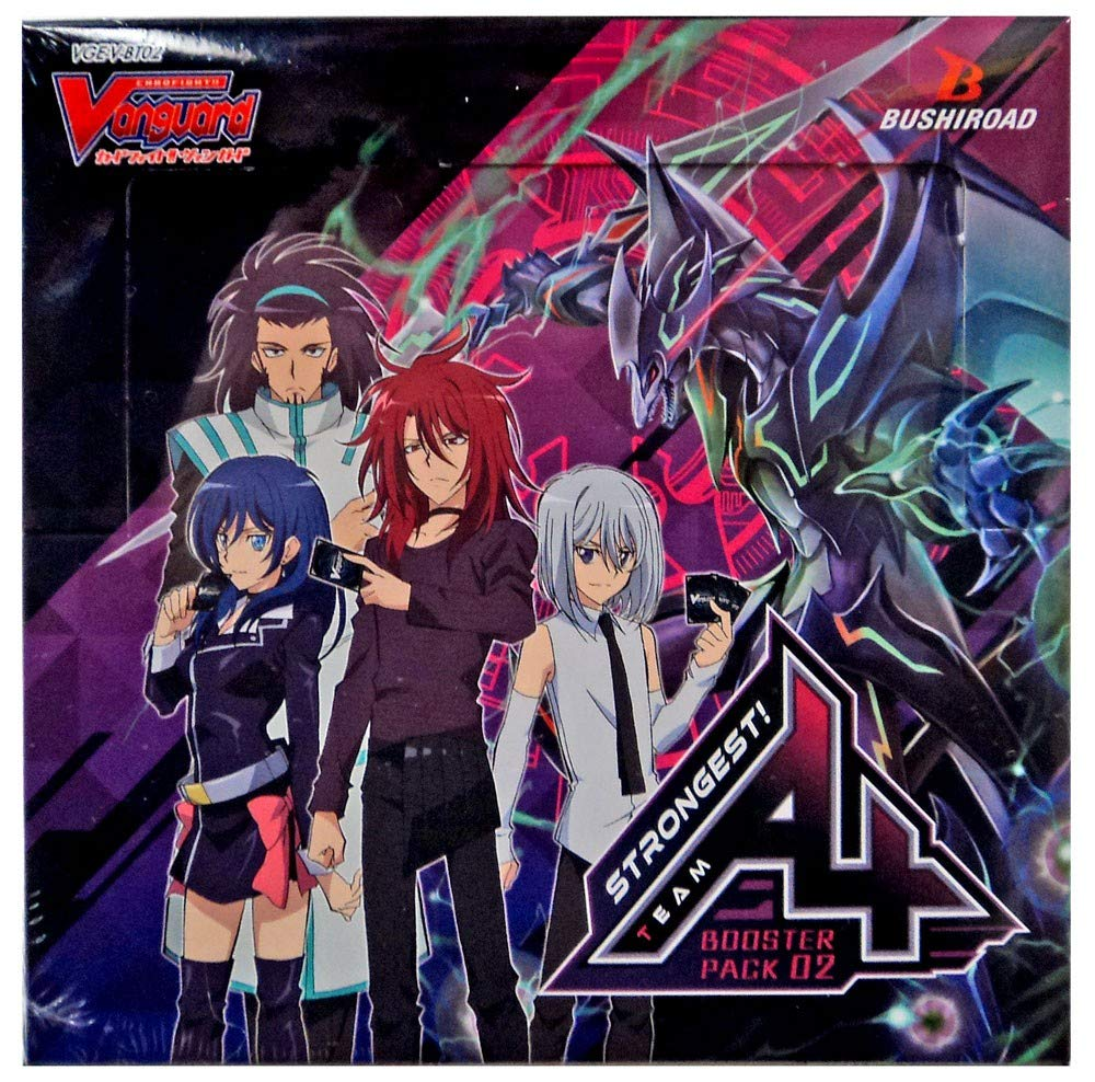 Cardfight Vanguard VGEVBT02EN GStrongest Team AL4 Booster Display Box fo 16 Packets