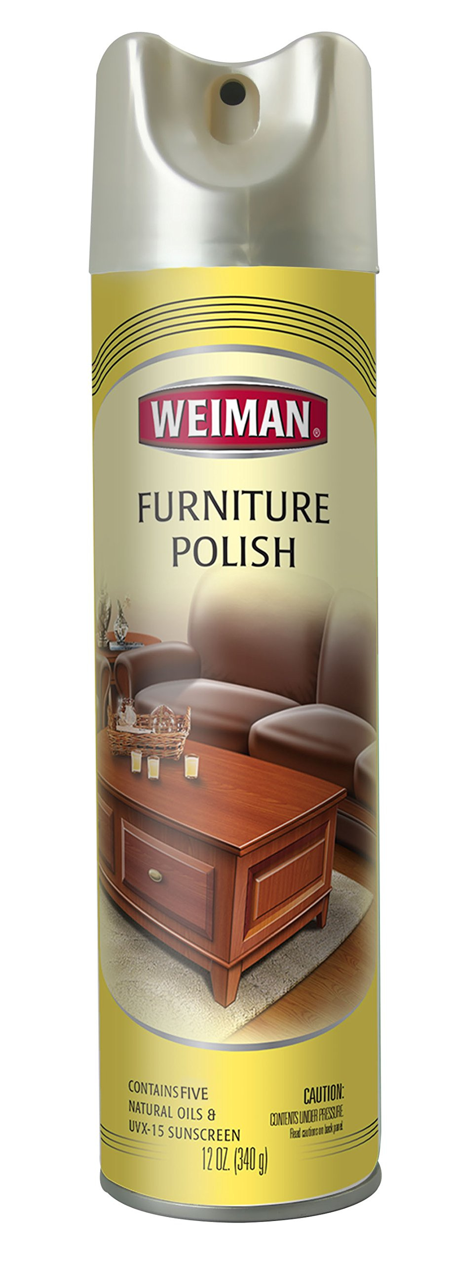 Weiman Furniture Polish With Lemon Oil 12 fl oz - 6 pack by Weiman