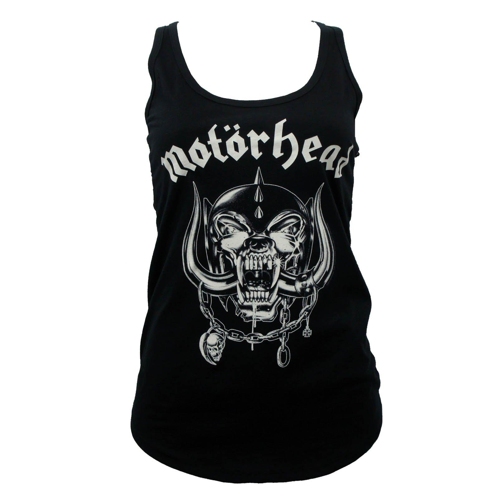 Motorhead Band England Lace Back Girls Tank Top 7916 Shirts