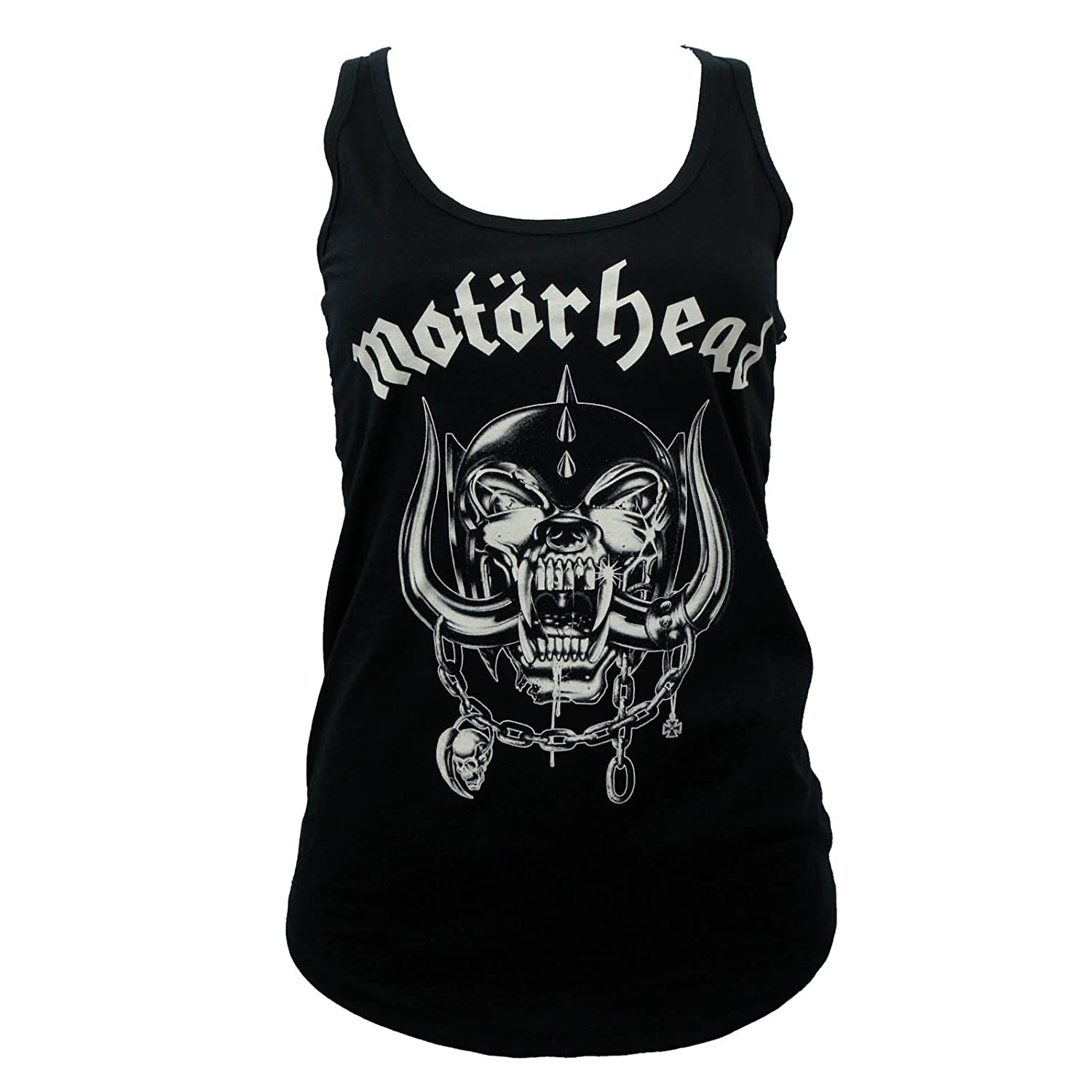 GLOBAL Motorhead Band England Lace Back Juniors Girls Tank Top H3 SPORTGEAR
