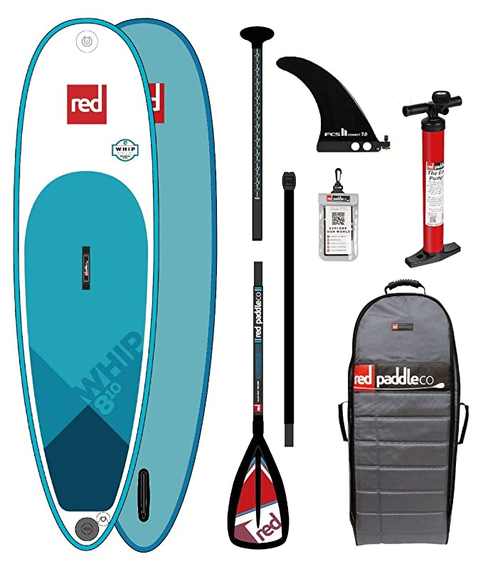 Red Paddle CO WHIP 8.10 Stand Up Paddle Tabla de Surf Surf con ...