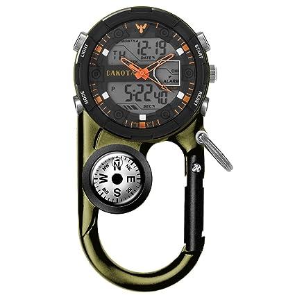 Amazon.com: Reloj Clip, Clip de bolsillo analógico Digital ...