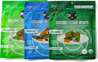 product image for Veggie Wrap Mini 3 Pack (Variety Pack)