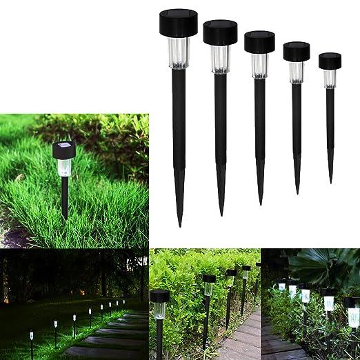 Lampade Solari Da Giardino Amazon.Luci Solari Da Giardino Syrma 12 Pack Luci Led Luci Solari