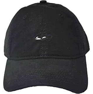 d124a68880e Amazon.com  Adjustable Black Adult Orca Killer Whale Embroidered Dad ...