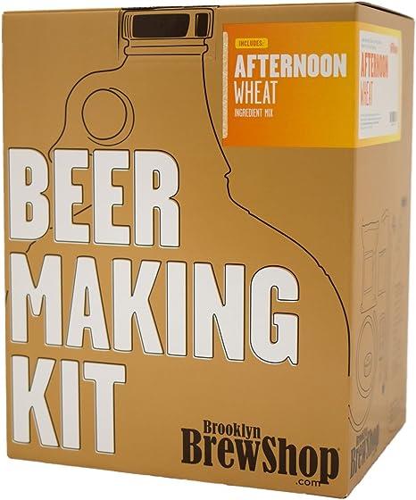 Brooklyn Brew Shop Bruxelles Blonde Beer Making Kit