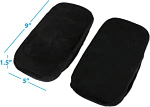 Eurow Foam Office Chair Armrest Support Pads to Eliminate Arm and Elbow Pain and Soreness 2 Pack