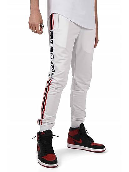 haut de gamme véritable En liquidation dernières tendances Project X Paris Pantalon de Jogging Bandes Racing Homme ...
