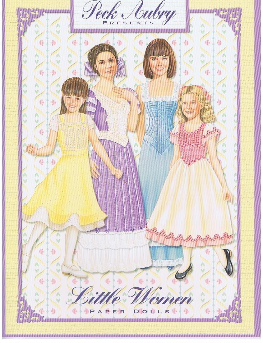 New Paper Dolls Little Women by Peck Aubry