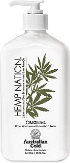 product image for Australian Gold Original Hemp Nation Moisturizing Tan Extender Lotion, 18 Ounce   Hemp Seed Oil