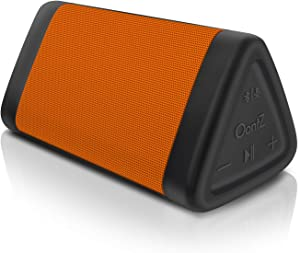 OontZ Angle 3 (3rd Gen) - Bluetooth Portable Speaker, Louder Volume, Crystal Clear Stereo Sound, Rich Bass, 100 Ft Wireless Range, IPX5 (Orange)