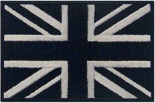 Táctico Bandera británica de Union Jack Reino Unido Emblema ...