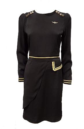 Aeronautica Militare Vestido VE057 Negro, Vestido, Mujer, Pantalón ...