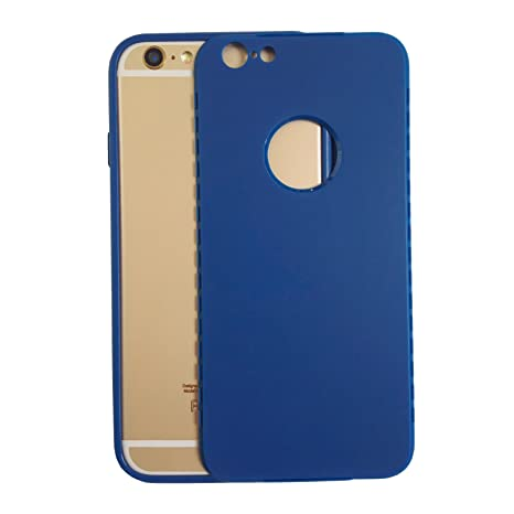 coque iphone 7 360 degres bleu