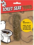 Fake Poo, Toilet Seat Turd, Secret Santa Joke/Novelty/Gift/Prank