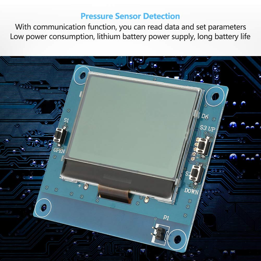 Acogedor Pressure Sensor Detection Display Module, Highly Sensitive Pressure Sensor Detection Display Module for Flexible Film Pressure Sensor
