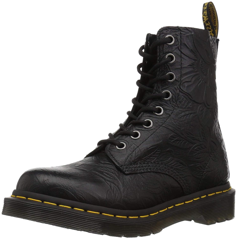Dr. Martens Pascal Floral Emboss Boots Black 24002001